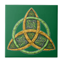 Celtic Trinity Knot Tile