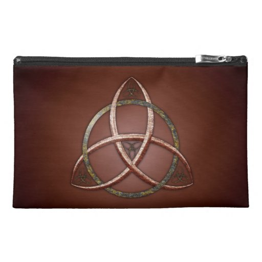 Celtic Trinity Knot Travel Accessories Bags