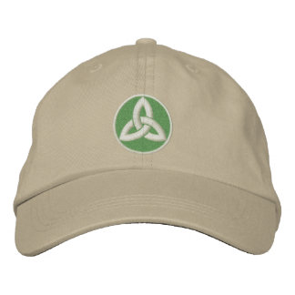 Celtic Trinity Knot Up Embroidered Baseball Hat