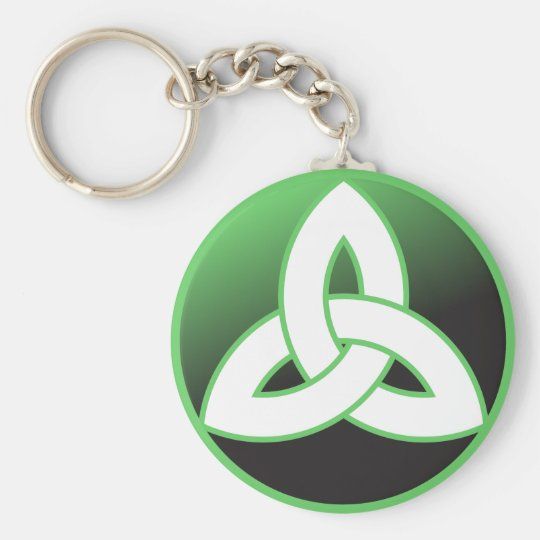 Celtic Trinity Knot Up Keychain