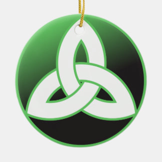 Celtic Trinity Knot Up Christmas Tree Ornament