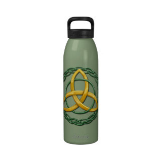 Celtic Trinity Knot Reusable Water Bottle