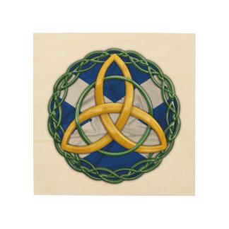 Celtic Wall Art celtic cross wood wall art | zazzle