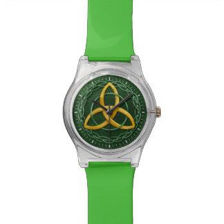 Celtic Trinity Knot Wristwatch