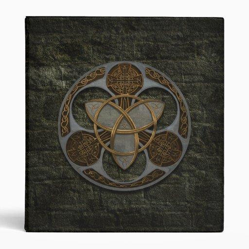 Celtic Trinity Shield Binder