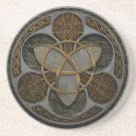 Celtic Trinity Shield Coasters