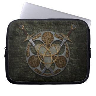 Celtic Trinity Shield Laptop Sleeve