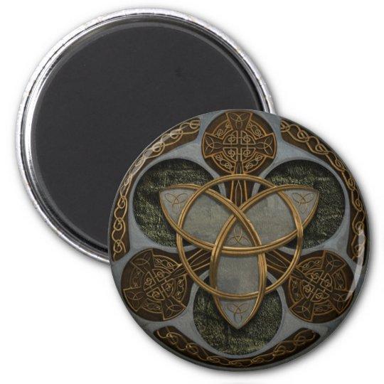Celtic Trinity Shield Magnet