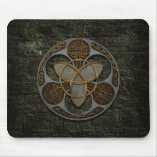 Celtic Trinity Shield Mouse Pad