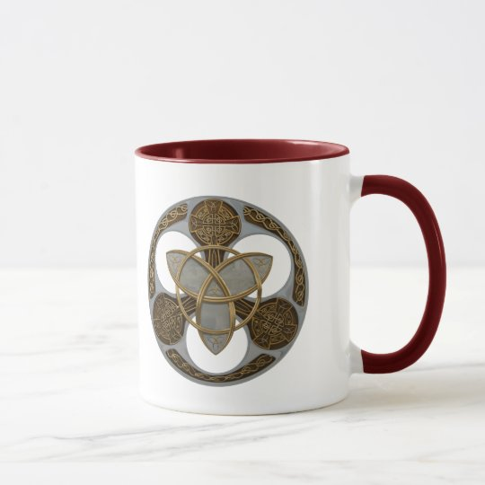 Celtic Trinity Shield Mug