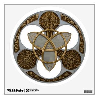 Celtic Trinity Shield Wall Sticker