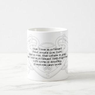 Celtic Triple Heart Verse Mug