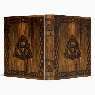 Celtic Triquetra 3 Ring Binder