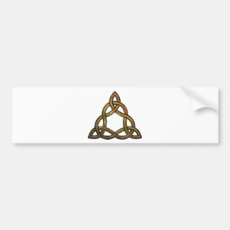 celtic triquetra bumper sticker