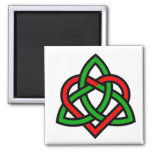 Celtic Triquetra Heart Magnet