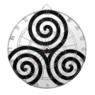 Celtic Triquetra Knot II Dart Boards