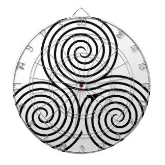 Celtic Triquetra Knot II Dartboards