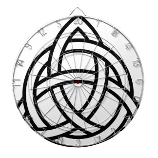 Celtic Triquetra Knot IV Dart Board