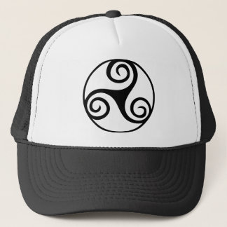 Celtic Triquetra Knot Trucker Hat