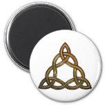 celtic triquetra magnet