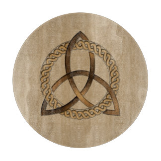 Celtic Triquetra Trinity Knot Cutting Board