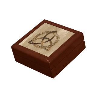 Celtic Triquetra Trinity Knot Giftbox Jewelry Box