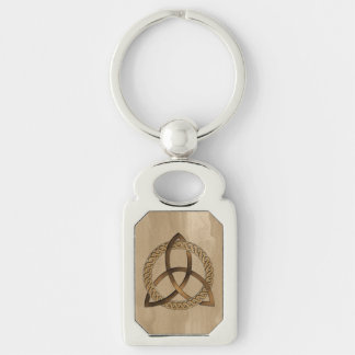 Celtic Triquetra Trinity Knot Keychain