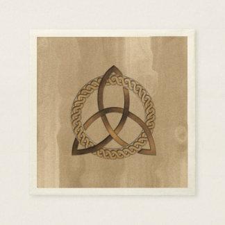 Celtic Triquetra Trinity Knot Paper Napkins