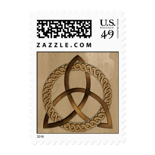 Celtic Triquetra Trinity Knot Stamp