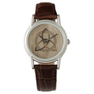 Celtic Triquetra Trinity Knot Wrist Watch