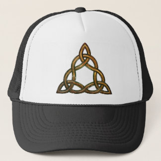 celtic triquetra trucker hat