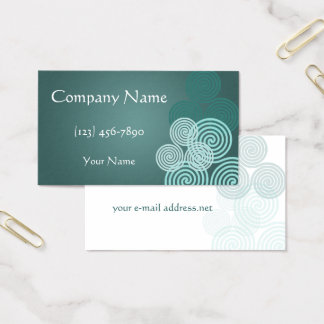 Celtic Triskele Business Card
