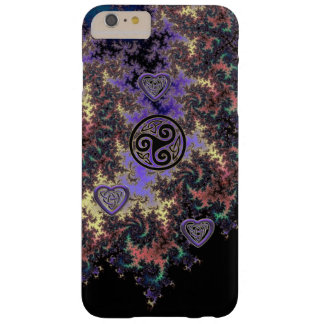 Celtic Triskele Fractal Heart Knots iPhone Case Barely There iPhone 6 Plus Case