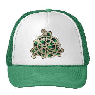Celtic Triskele Gorros Bordados
