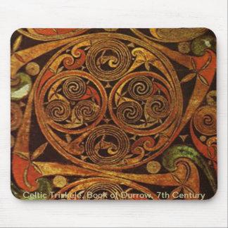 Celtic Triskele Mouse Pad