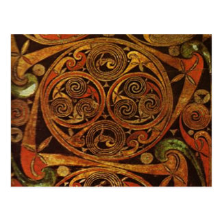Celtic Triskele Postcard