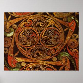 Celtic Triskele Póster