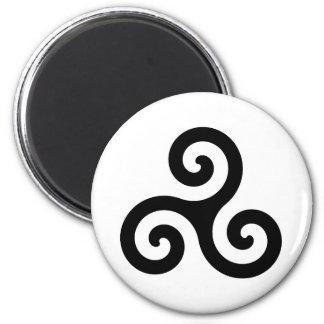 Celtic Triskelion Symbol Refrigerator Magnet