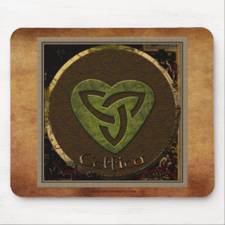 Celtic Triskellion-styled Irish-lover's Mousemat Mouse Pad