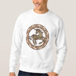 Celtic Unicorn Embroidered Sweatshirt
