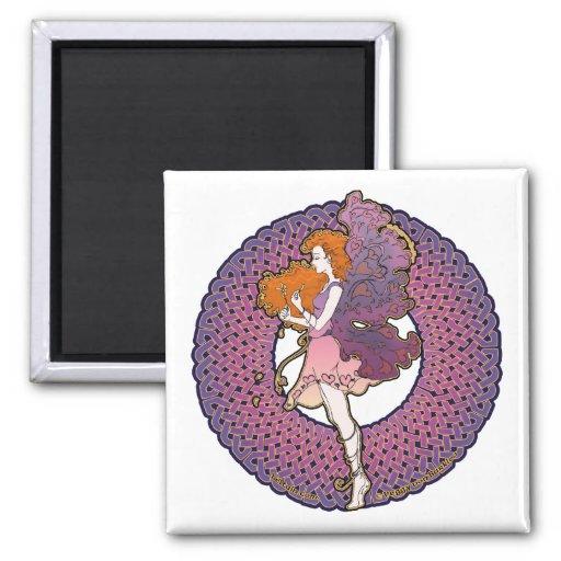 Celtic Valentine Fairy Magnets #2