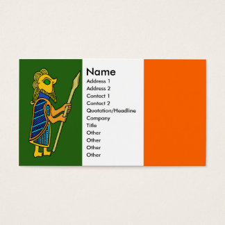 Celtic Warrior Profile Card