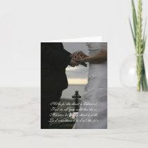 beautiful celtic wedding invitation