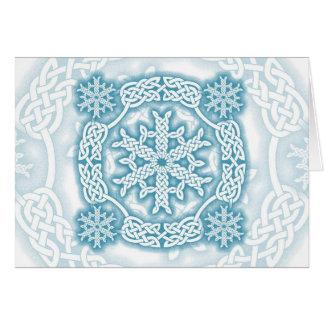 Celtic Winter Greeting Card