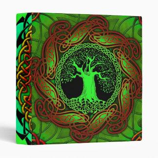 Celtic Wisdom Tree II 3 Ring Binders