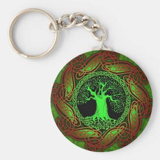 Celtic Wisdom Tree II Keychain