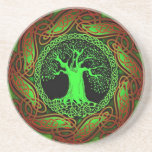 Celtic Wisdom Tree II Posavasos Diseño