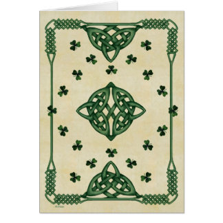 Celtic Wishes Card