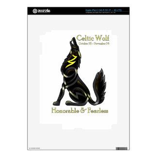 Celtic Wolf iPad 3 Skins