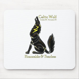Celtic Wolf Mouse Pad